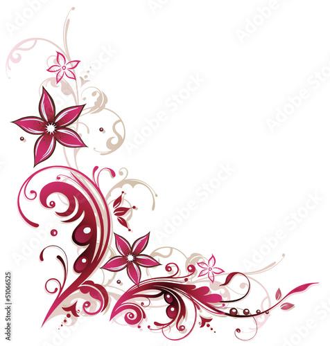 Ranke Sommer Blumen Blten pink Stockfotos und