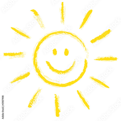 Lachgesicht Sonne Stockfotos und lizenzfreie Vektoren auf Fotoliacom  Bild 51107908