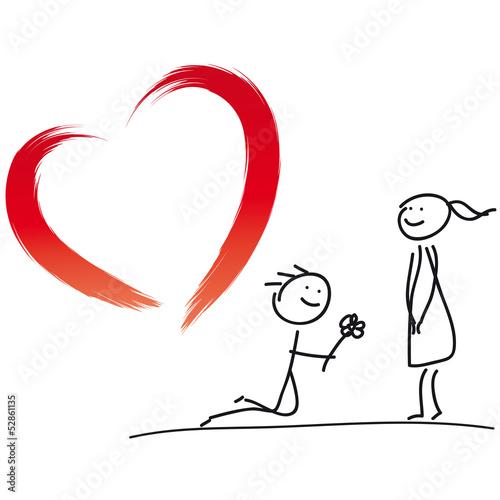 Herz  Hochzeit  Heirat  Verlobung Stockfotos und