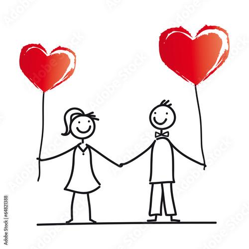Herz  Hochzeit  Heirat  Verlobung  Junges Paar
