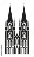 """""""Kölner Dom"""" fichier vectoriel libre de droits sur la ..."""
