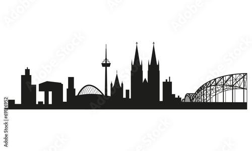 Skyline Kln Stockfotos und lizenzfreie Vektoren auf