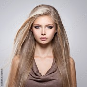 """""""beautiful young woman with long"""