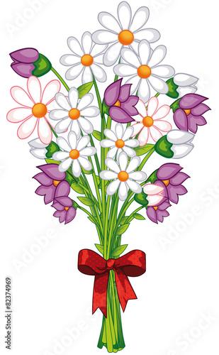 Blumenstrauss Gemalt