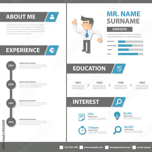 """Smart Creative Resume Business Profile CV Vitae Template"