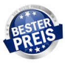 button with text Bester Preis