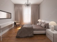 """Classic chic bedroom with floor""Fotolia.com   ..."