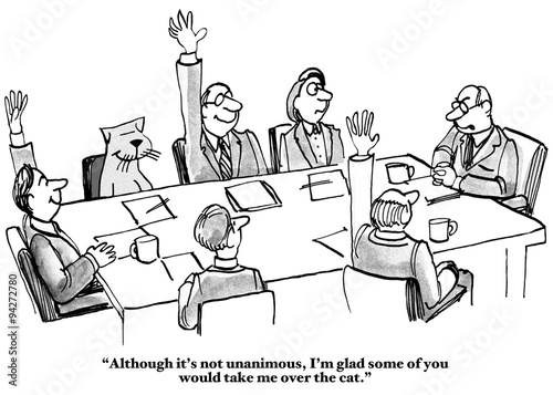 Funny Staff Meeting Clip Art