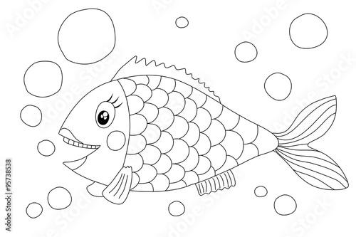 """""""Fisch (Malvorlage)"""" Stockfotos und lizenzfreie Bilder auf"""
