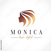 """beauty woman hair salon logo template"""
