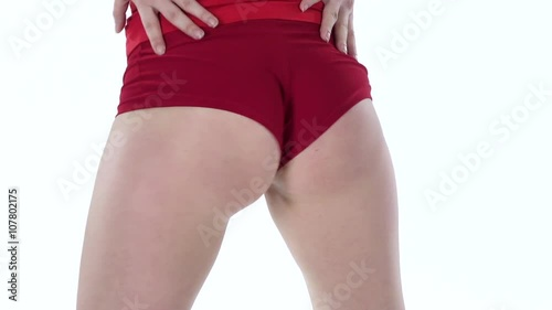 Booty Shake In The Professional Performance Of Young Sexy Woman White Slow Motion Stock Footage And Royalty Free Videos On Fotolia Com Vid 107802175