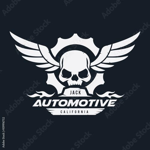 dark rider logo automotive