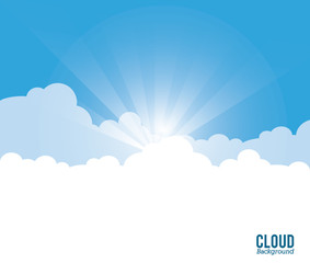 cloud design wheater icon