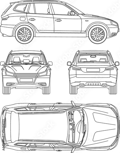 car damage inspection diagram honeywell zone control wiring condition report vehicle checklist auto stock image and royalty free vector files on fotolia com pic 94133525