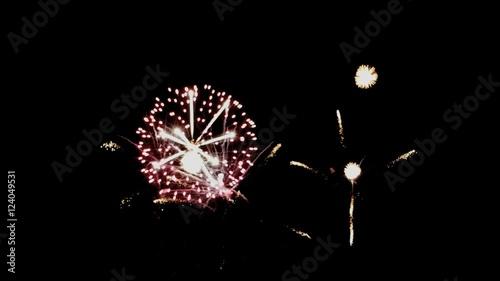 fireworks display celebration colorful