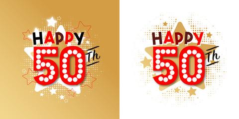 happy 50th photos royalty