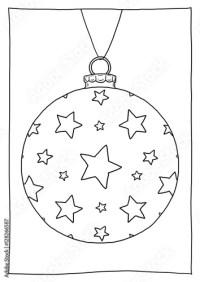 Malvorlagen Weihnachtsbaumkugeln Weihnachtskugeln Ausmalen