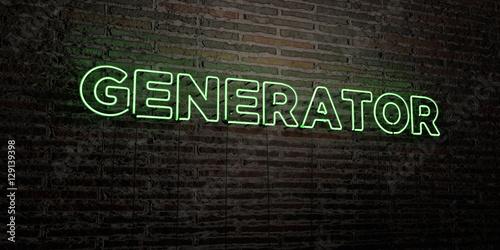generator realistic neon sign