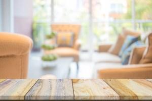 blur background living interior usage