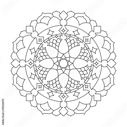 16 Coloring Book Geometric Pattern Vector Images