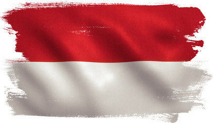 indonesian flag photos royalty