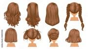 """brown hair beautiful hairstyle"