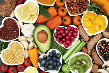 Health food for fitness and vitamins