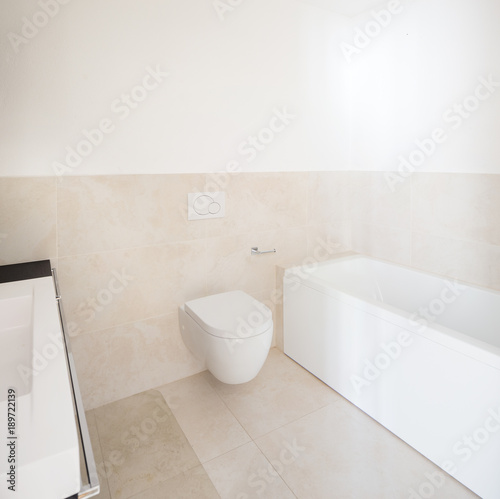 Interior of modern empty apartment bathroom Stock photo and royaltyfree images on Fotolia