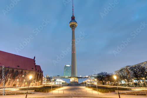 the famous television tower
