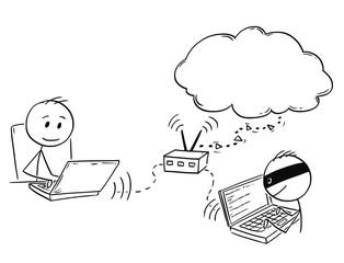Search photos hacker cartoon