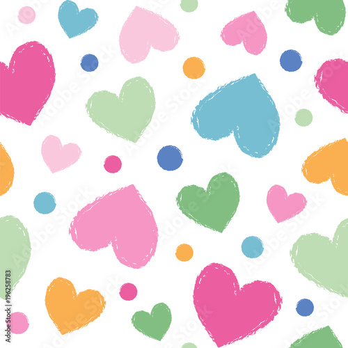 hearts colors # 62