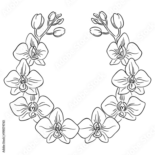 Coloring Page Circle Border Coloring Pages