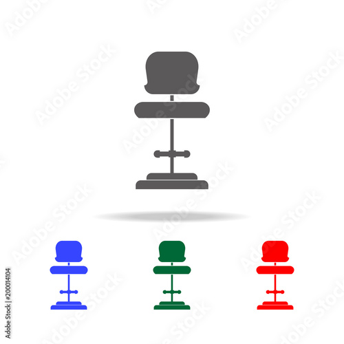 chair design icons small dining tables and chairs for 2 high seat icon elements of disco night life multi colored premium quality graphic simple websites web