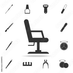 Chair Design Icons Reclining Beach Chairs Office Icon Detailed Set Of Beauty Salon Premium Quality Graphic One The Collection For Websites Web Mobile App