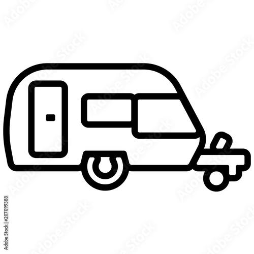 Malvorlagen Kostenlos Wohnwagen