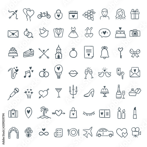 free wedding icons # 19