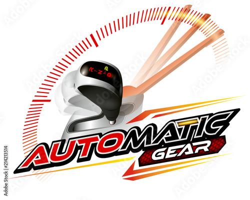 vehicle gear stick automatic