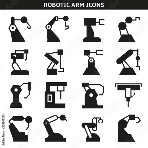 robotic arm in manufacturing