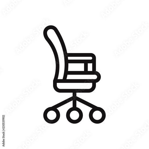 office chair vector leather butterfly covers australia icon stock image and royalty free files
