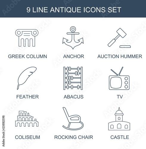 9 antique icons trendy