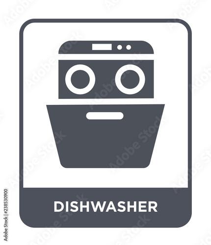 dishwasher icon vector stock