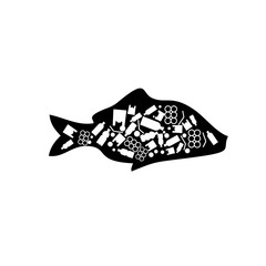 Photos, illustrations et vidéos de poisson rouge dans un sac