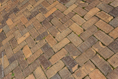 background of old brick