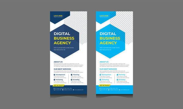 https stock adobe com ee images rack card corporate dl rack card corporate dl flyer design template roll up banner signage stand 433426390 start checkout 1 content id 433426390
