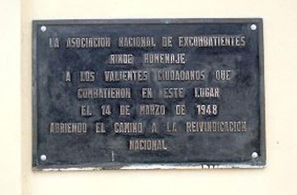 Placa San Cristóbal Sur