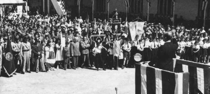 Discurso Uladislao Gámez en el acto de Abolición del Ejército
