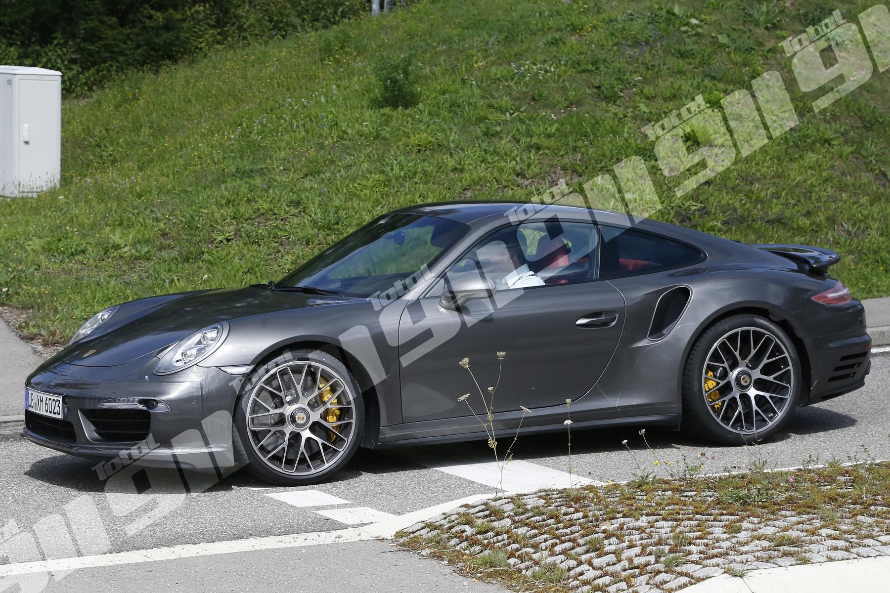 EXCLUSIVE New Porsche 911 Turbo S Spy Shots Put 992