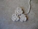 fiori, lana, uncinetto