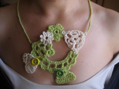 collana, gomitoli's, crochet
