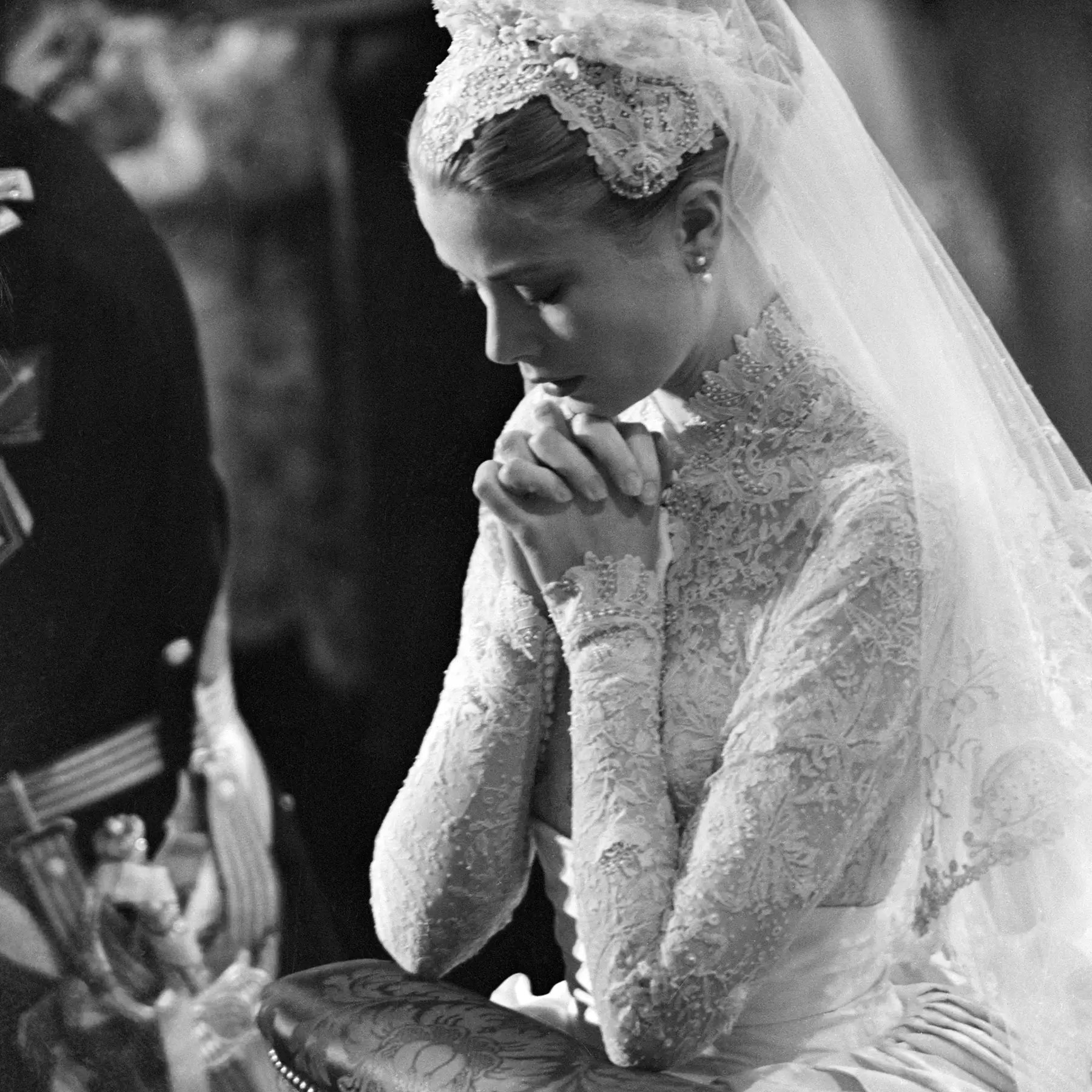 The Story Of Grace Kelly S Wedding Dresses Tatler